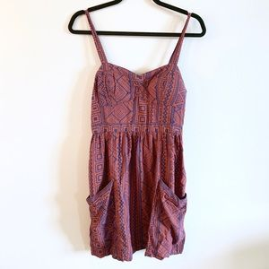 AEO   Boho Tribal Design Dress